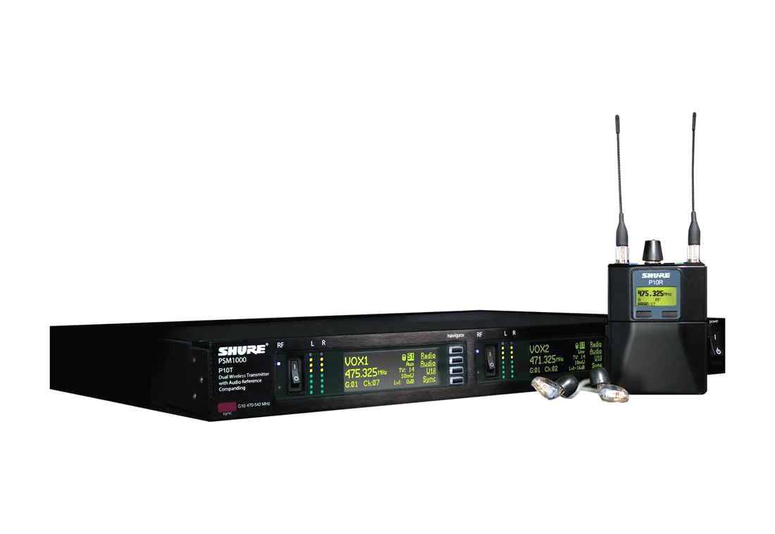 PA機材レンタル:SHURE EAR MONITOR SYSTEM(イヤモニシステム)