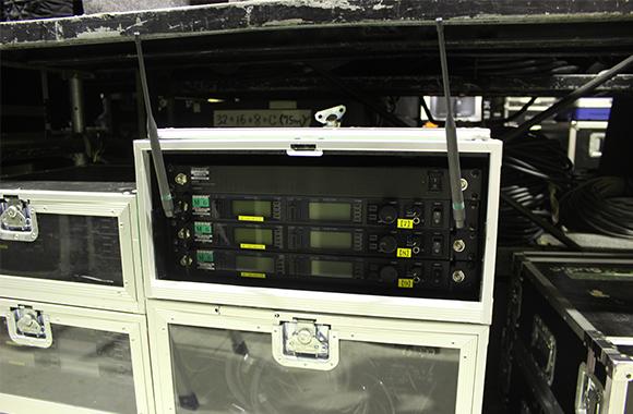 PA機材レンタル:SHURE UHF-R ワイヤレス・システム