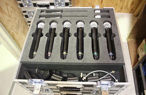 PA機材レンタル:SHURE ワイヤレスハンドマイク AXT200シリーズ